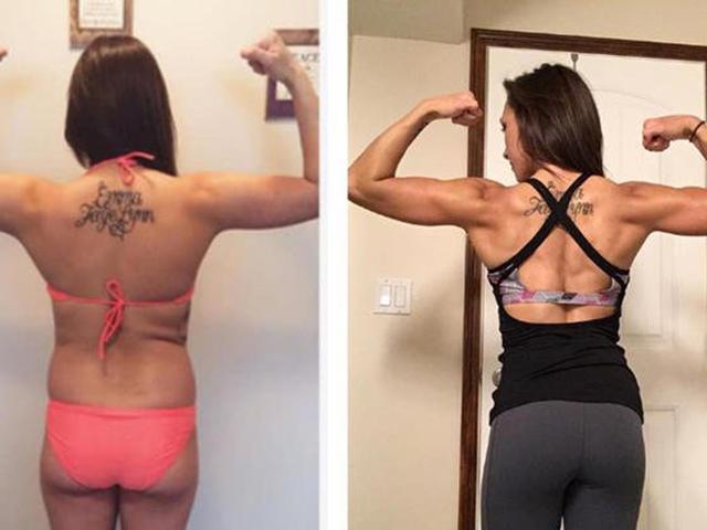 Woman Transformation Month 6