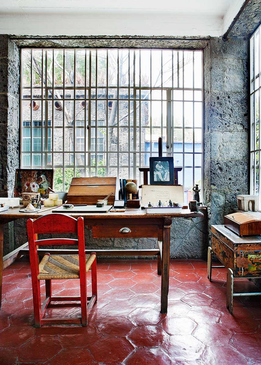 Kahlo Frida House City Mexico