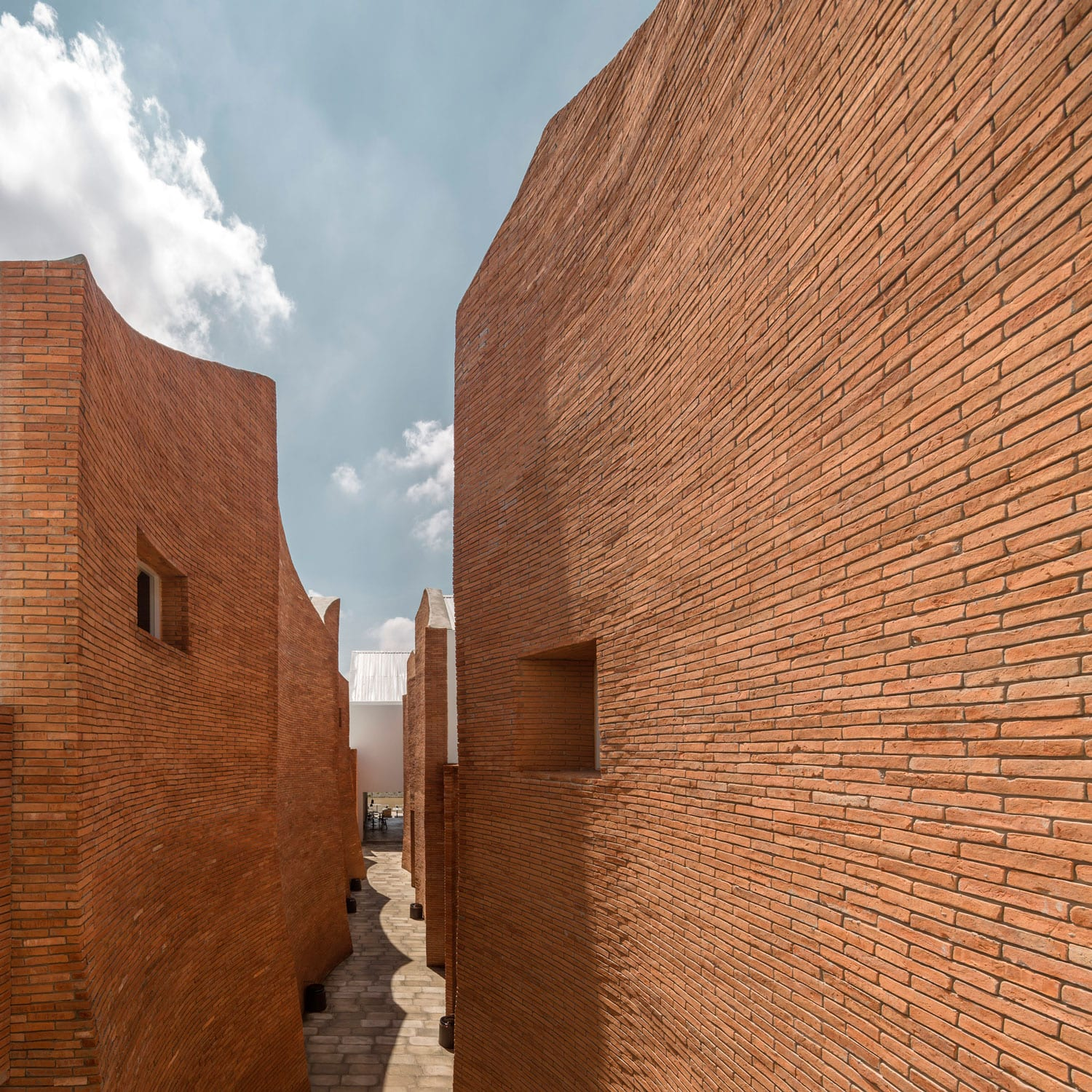 Bricks Decoded Curved Brick Buildings Curated By