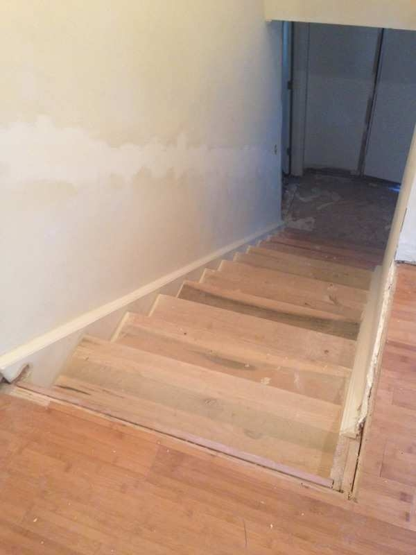 How To Resuse Existing Stair Treads | Poplar Stair Treads Home Depot | Hardwood | Baluster | Hand Rail | Wood | Risers