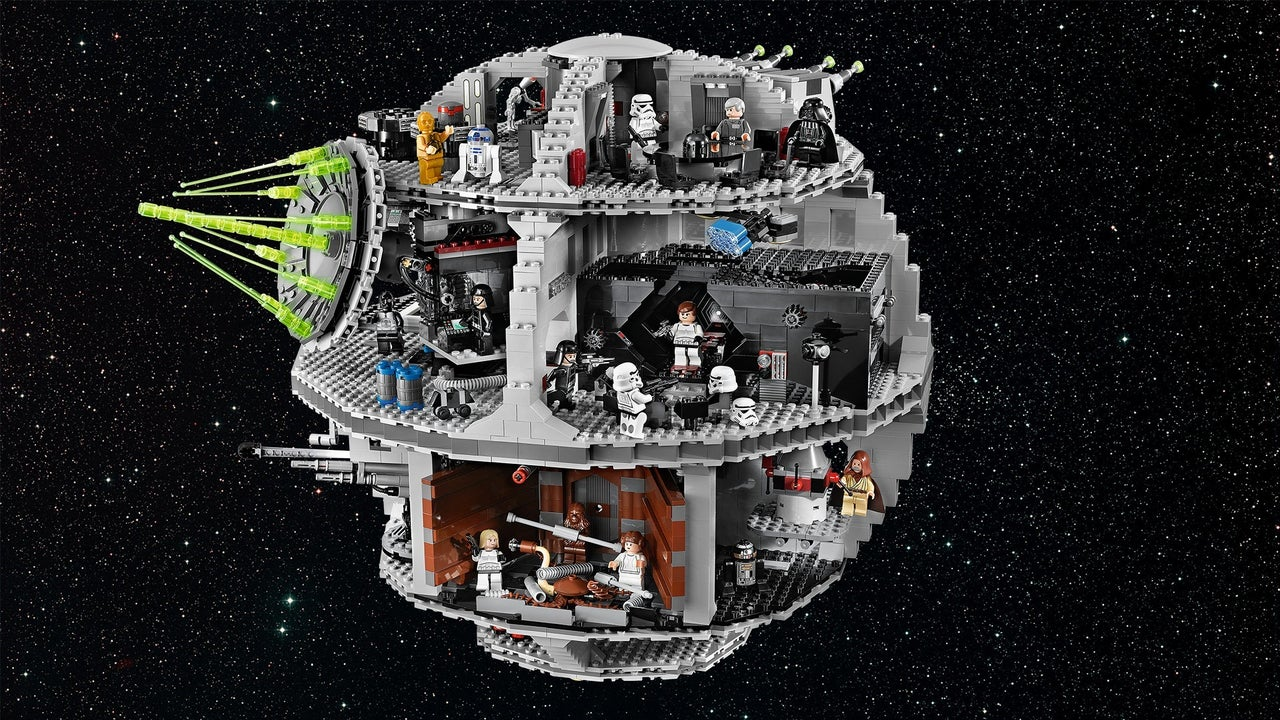Unboxing the Lego Star Wars Death Star - IGN Video