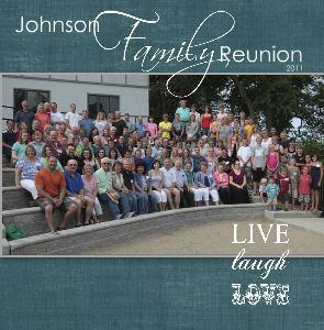 2011 Johnson Family Reunion - Family Photo Book