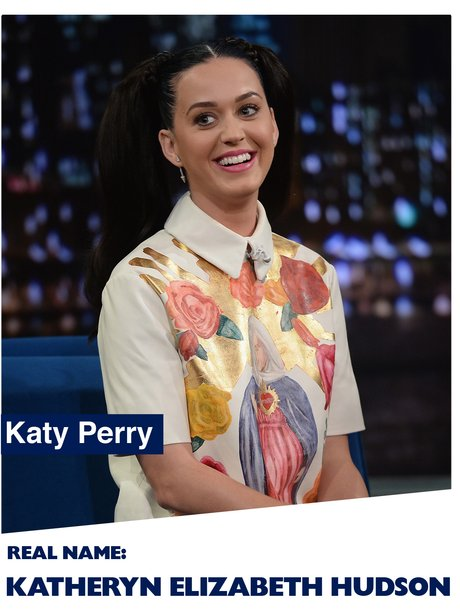 What Is Katy Perry's Real Name?| Pop Stars' Real Names: 25 Music Icons' REAL Identities Revealed ...