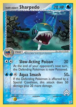 Team Aqua's Sharpedo | EX Team Magma vs. Team Aqua | TCG ...