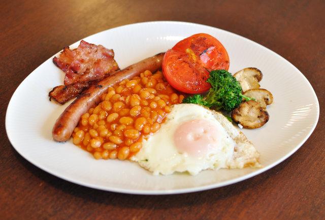 English Breakfast London Uk