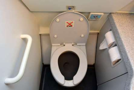 Fascinating and Disturbing Things You Never Knew About Airplane     airplane toilet
