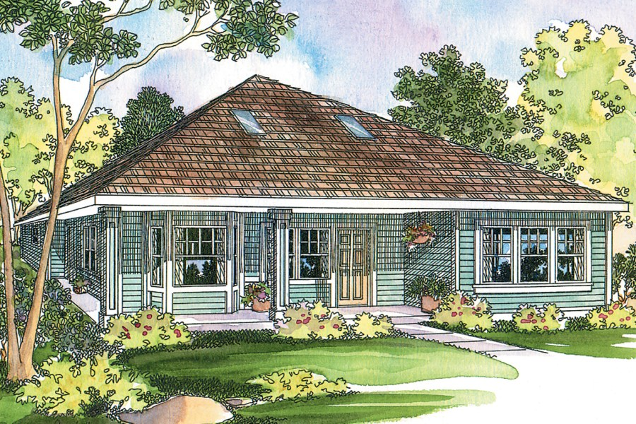 Cottage House Plans   Lincoln 30 203   Associated Designs Cottage House Plan   Lincoln 30 203   Front Elevation