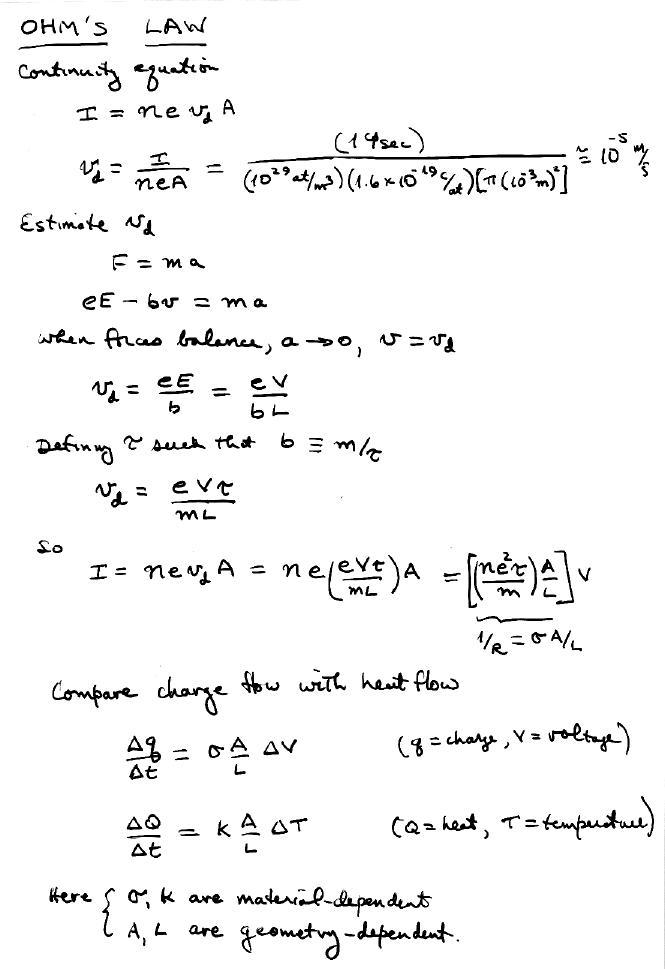 Ohm S Law Formula Tutor