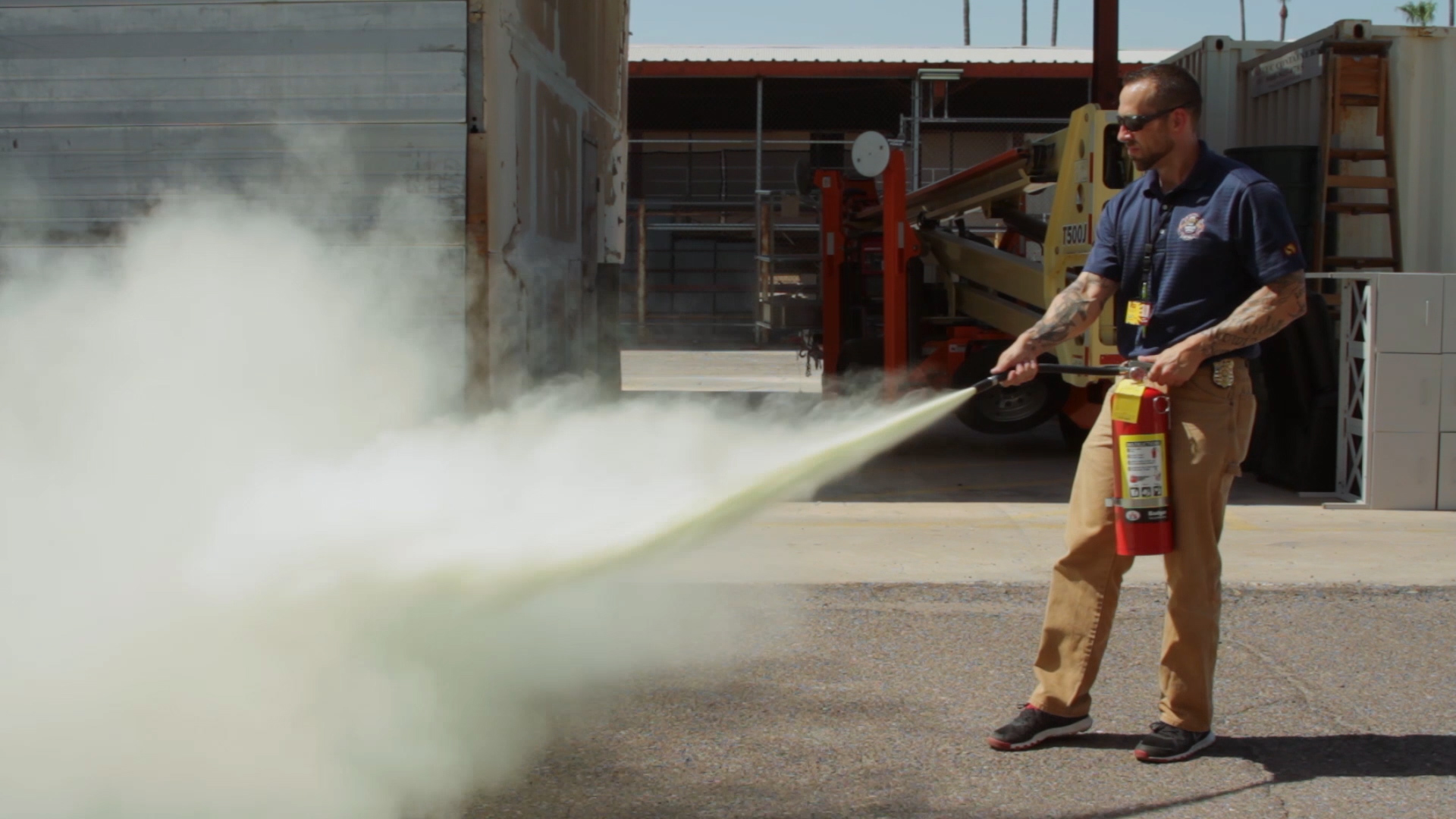 Hands-On Fire Extinguisher Training | ASU Events