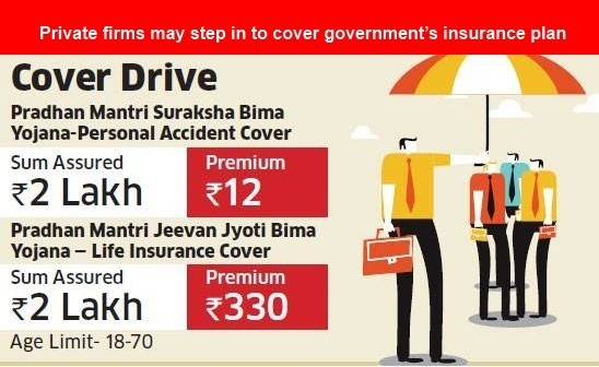 Private firms may step in to cover government's insurance plan