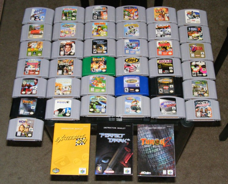 37 N64 Games   3 Manuals   Auction Central   AtariAge Forums DSCF5855cropped