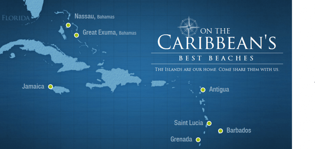 Sandals Grande Antigua Map