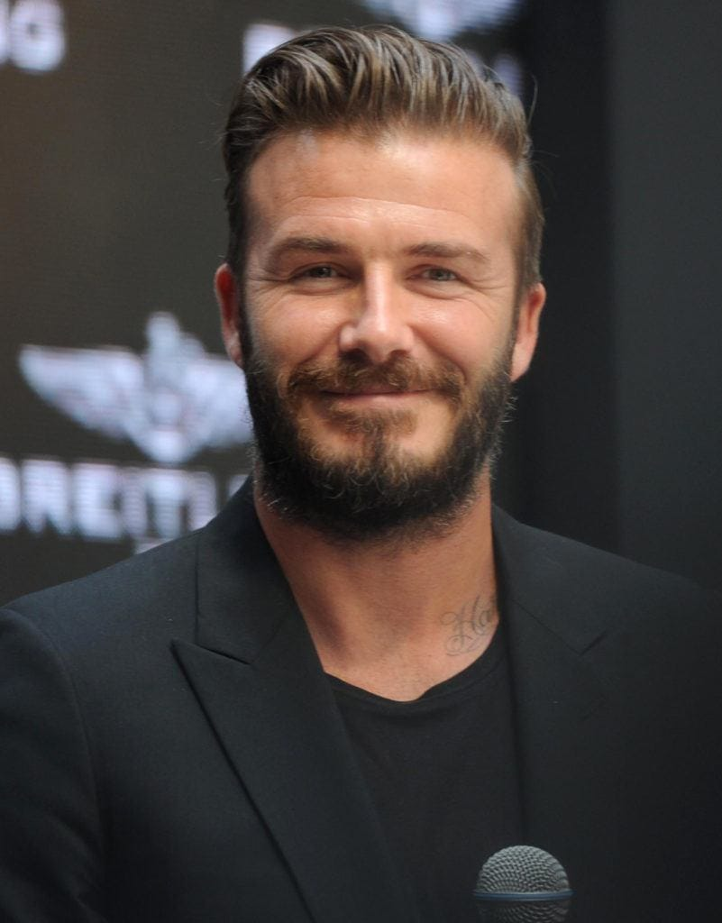 Hair hits: David Beckham's greatest hairstyles from then ...