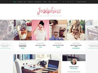 35+ Best Feminine WordPress Themes 2016 - aThemes