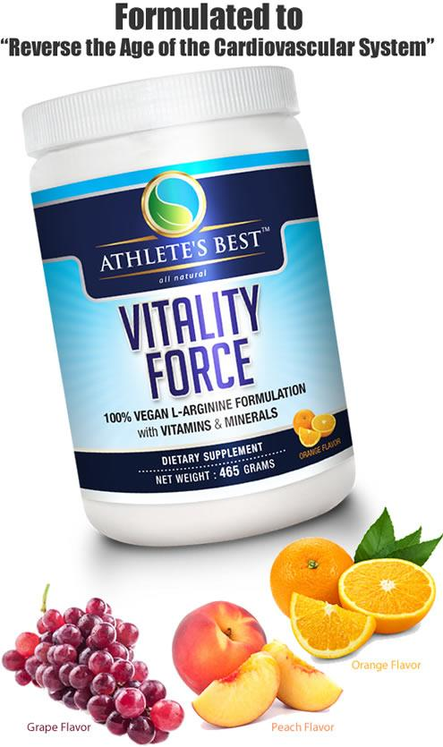 Vitality Force Natural Nitric Oxide Booster w/Vitamins ...