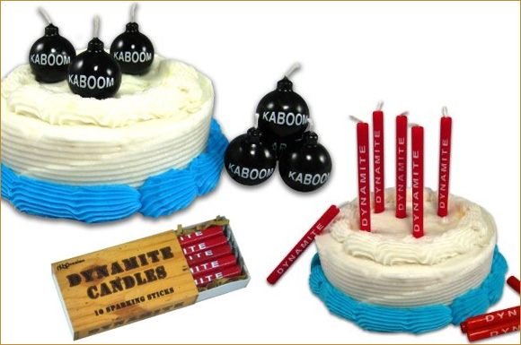 Explosive Birthday Candles At Home With Kim Vallee