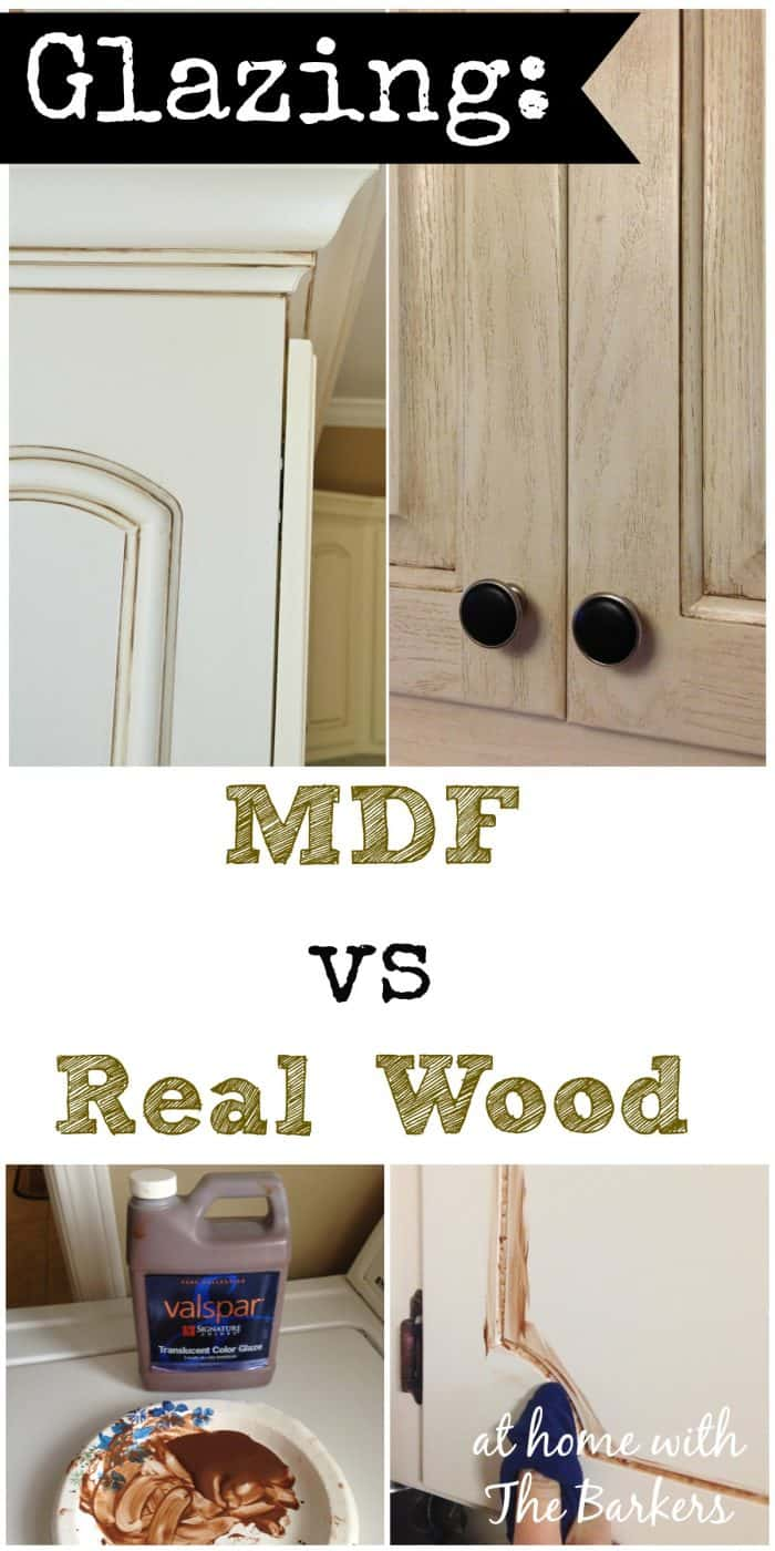 Best Kitchen Gallery: Glazing Mdf Versus Real Wood At Home With The Barkers of Painting Old Particle Board Cabinets on rachelxblog.com