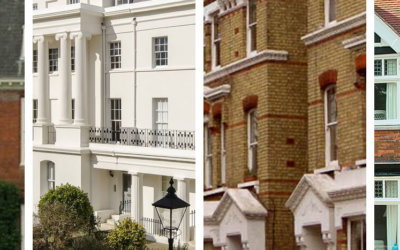 Identifying Georgian, Victorian and Edwardian period architecture
