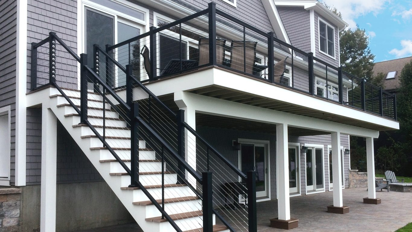 Atlantis Rail Systems Steel Cable Railing Home | Diy Interior Cable Railing | Front Step | 42 Inch | Modern | Wire | Low Cost
