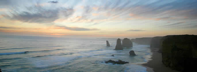 Great Ocean Road Road Map Victoria Australia 12 Apostles Great Ocean Road Victoria  Map