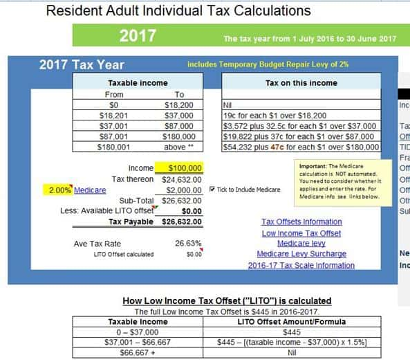 Estimated Tax Payments Calculator 2017