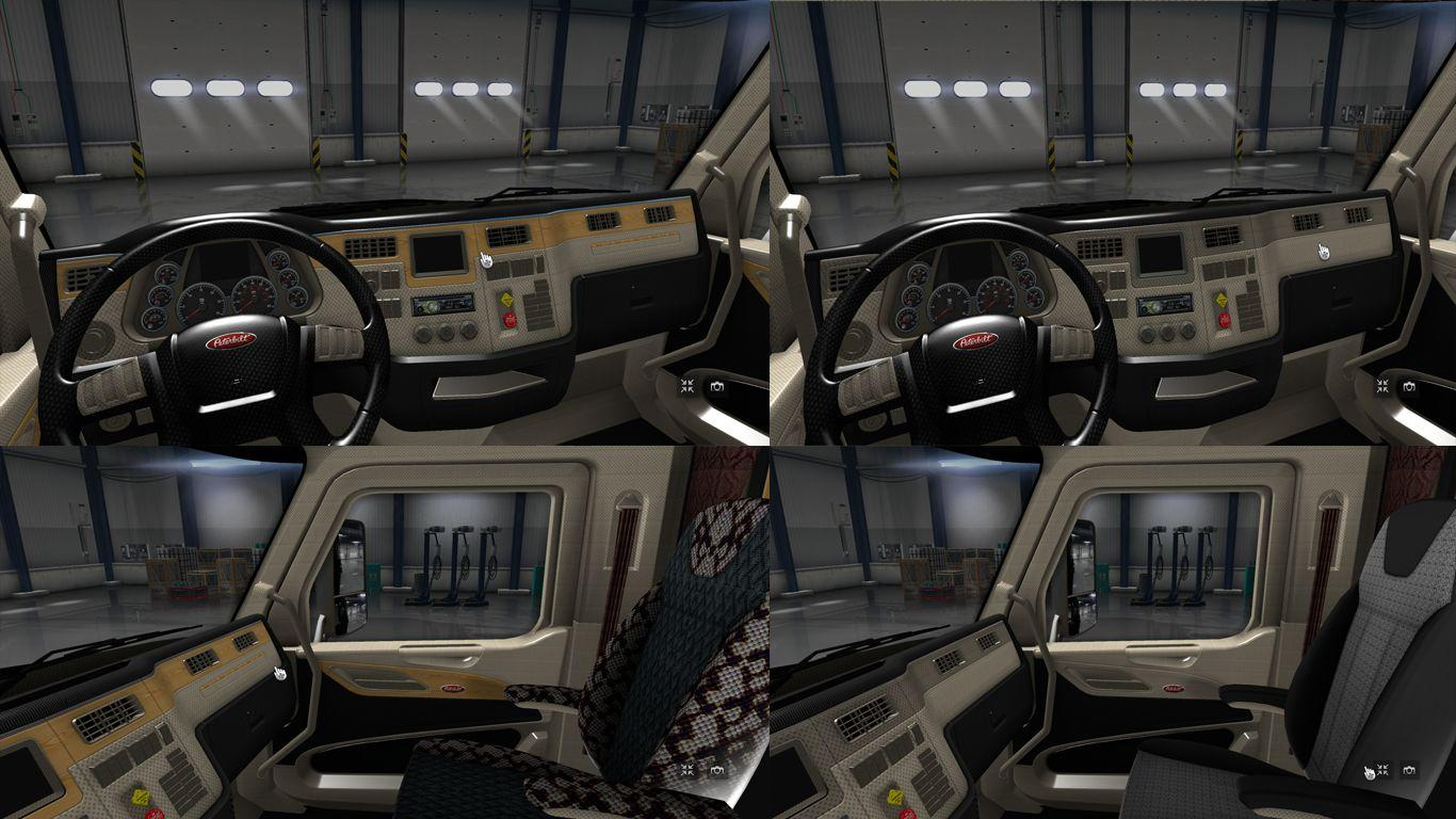 Kenworth T680 Interior