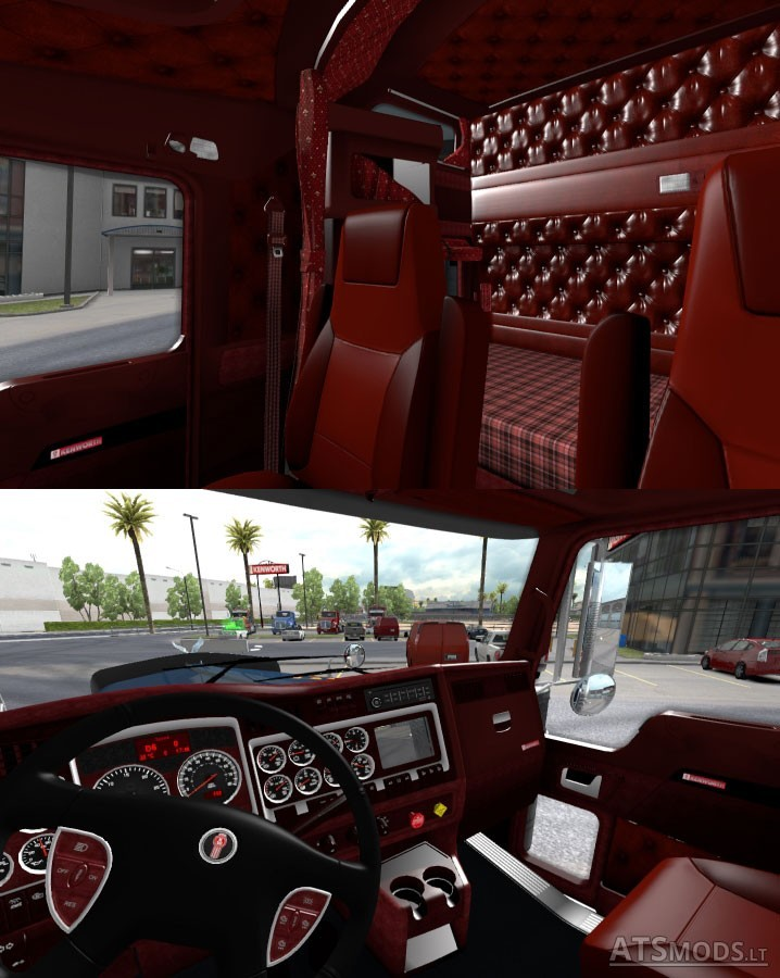 Kenworth W900 Interior Parts