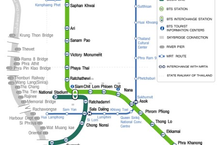 bangkok bts map with attractions » [HD Images] Wallpaper For ...