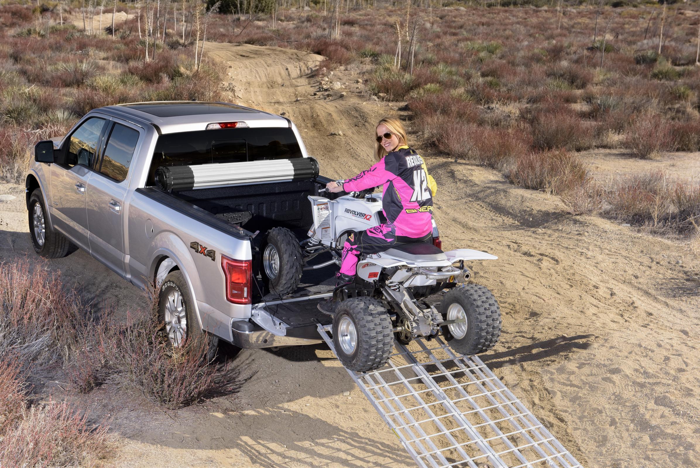 Revolverx2 Atv Motorsports Truck Bed Covers Atv Illustrated