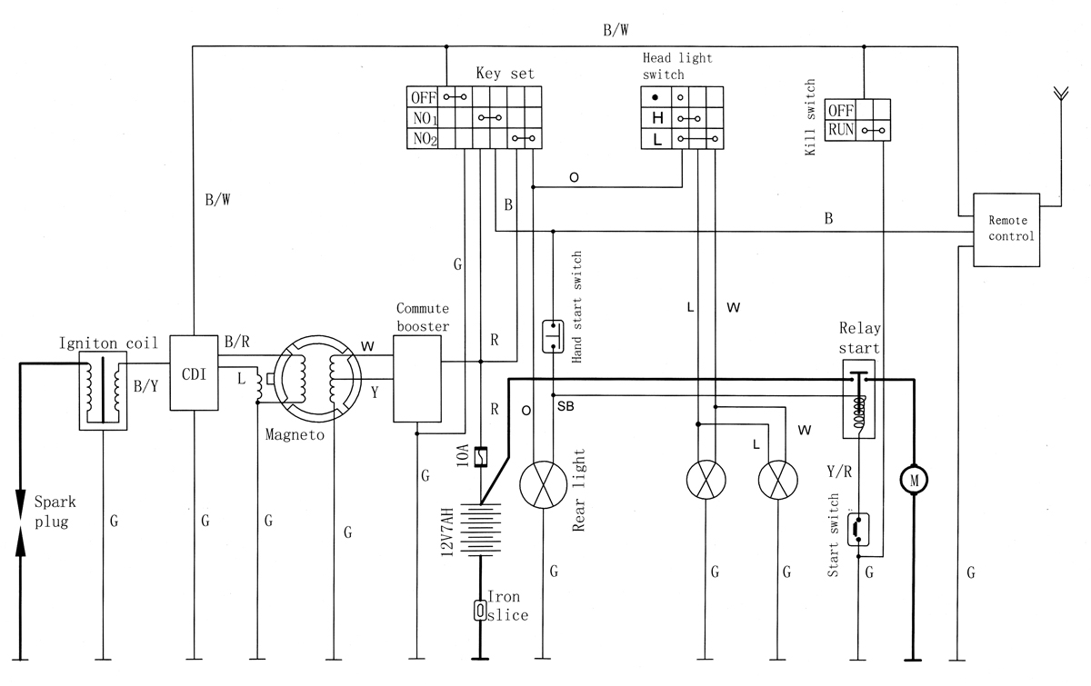eton 90 wiring diagram eton beamer wiring diagram #6
