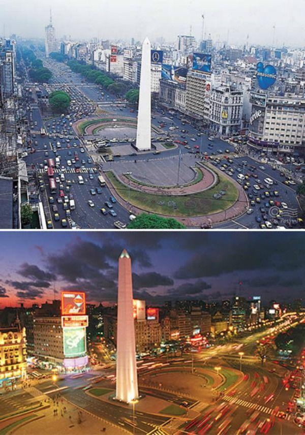 Large Julio De La Argentine Monde Plus Du 9 Route Aires La Buenos