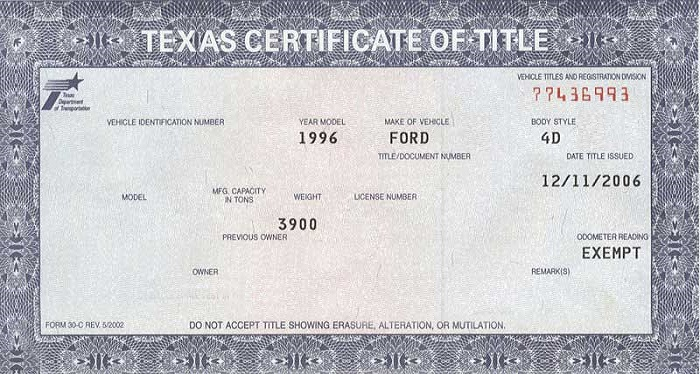 Order Form Buyers Texas