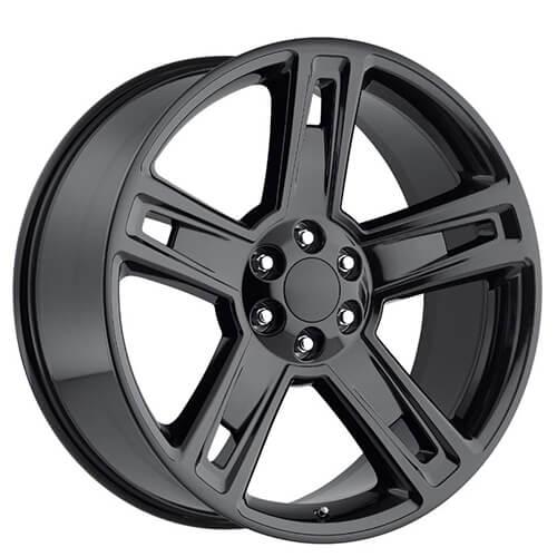 1996 Chevy 1500 Black 24 Rims