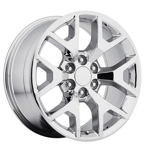 24 Chrome Wheels F150