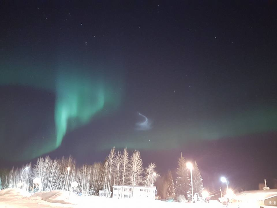 Best Time See Northern Lights Tonight