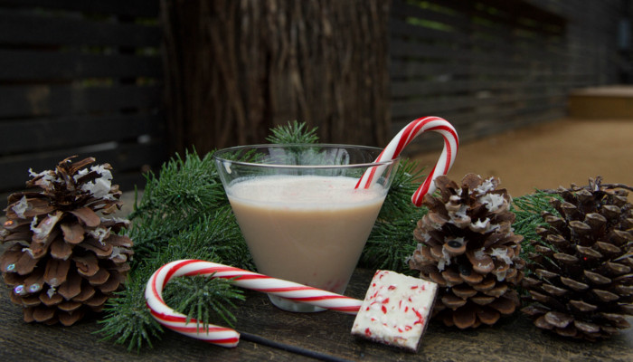 Candy Cane Infused Vodka