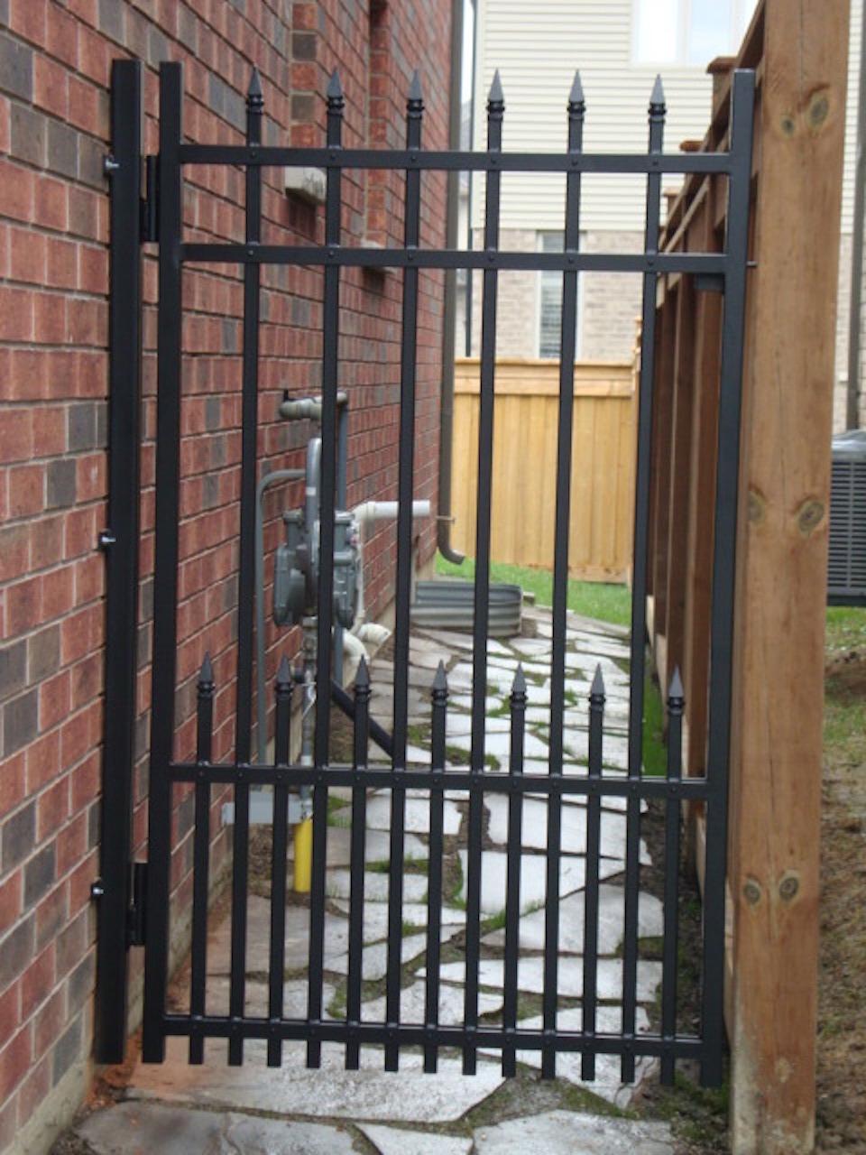 Single Gates Authentic Ironworks