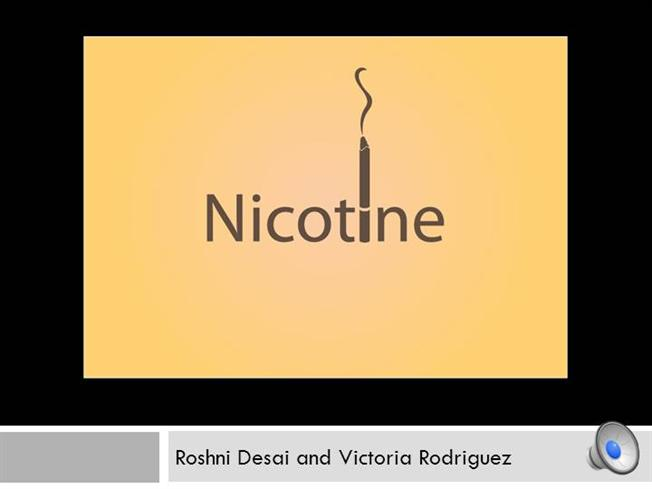 Project Pictures Nicotine