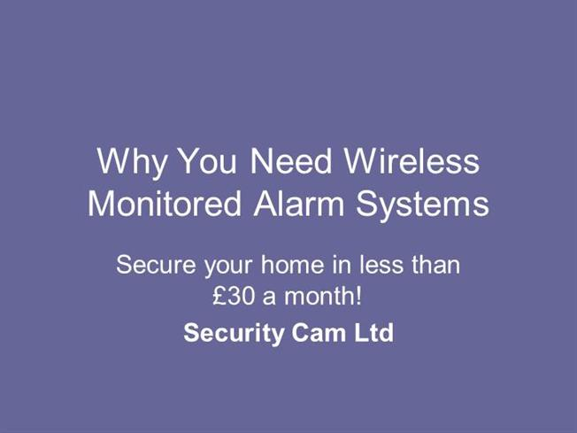 Non Monitored Home Alarm Systems