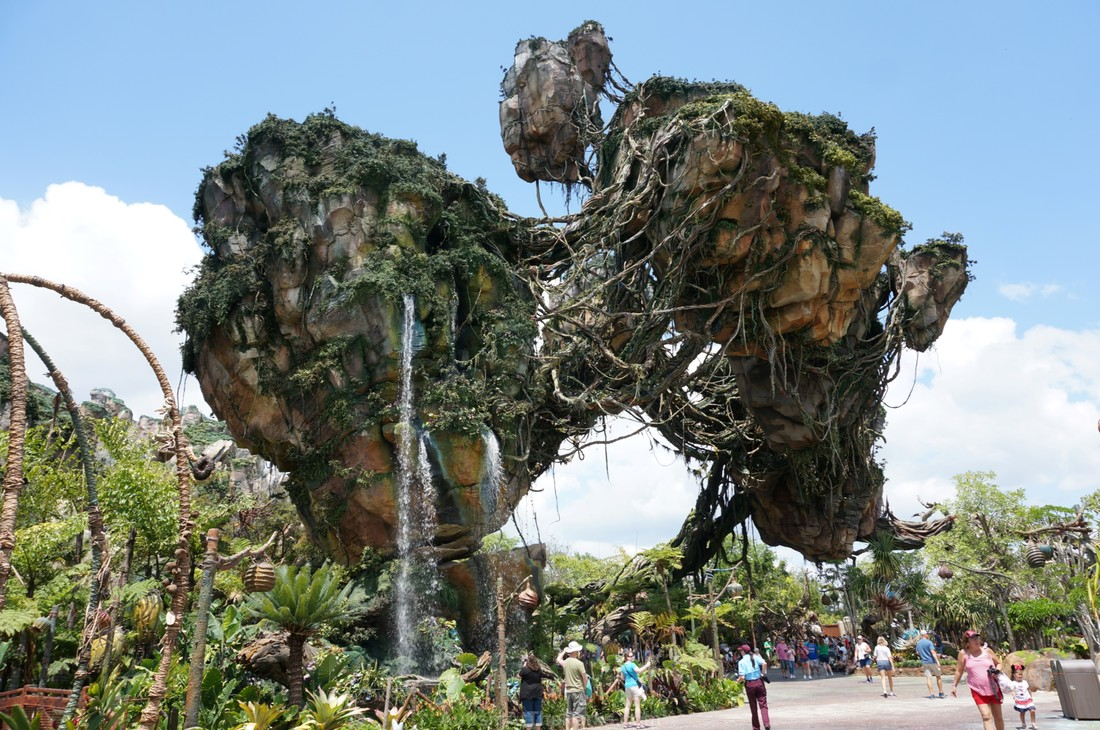 Image of: River Journey Pandora The Land Of Avatar In Disneys Animal Kingdom Autism At The Parks Pandora Land Of Avatar Animal Kingdom