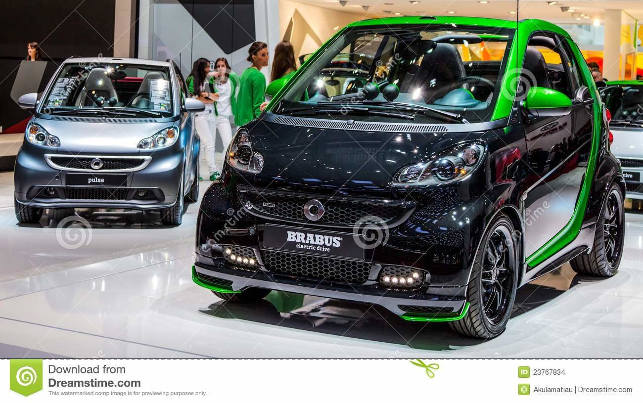 Latest Geneva Motorshow 2012 Smart Car Brabus Editorial Stock Free Download Original 1024 x 768