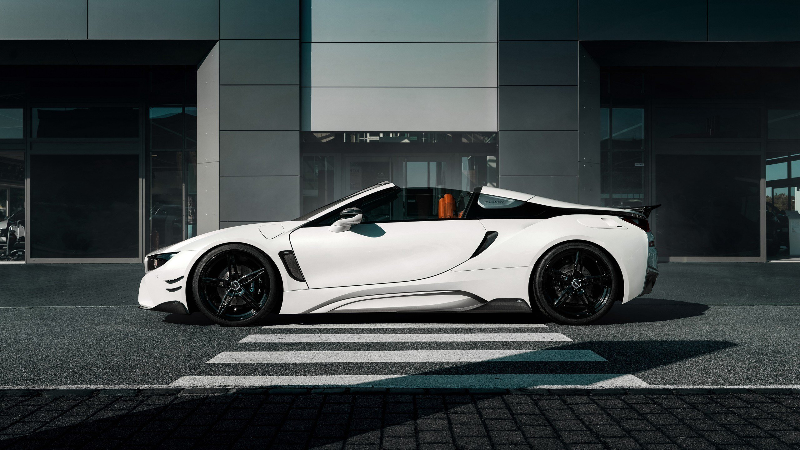 Latest Wallpaper Bmw I8 Roadster Ac Schnitzer 2018 Cars Free Download
