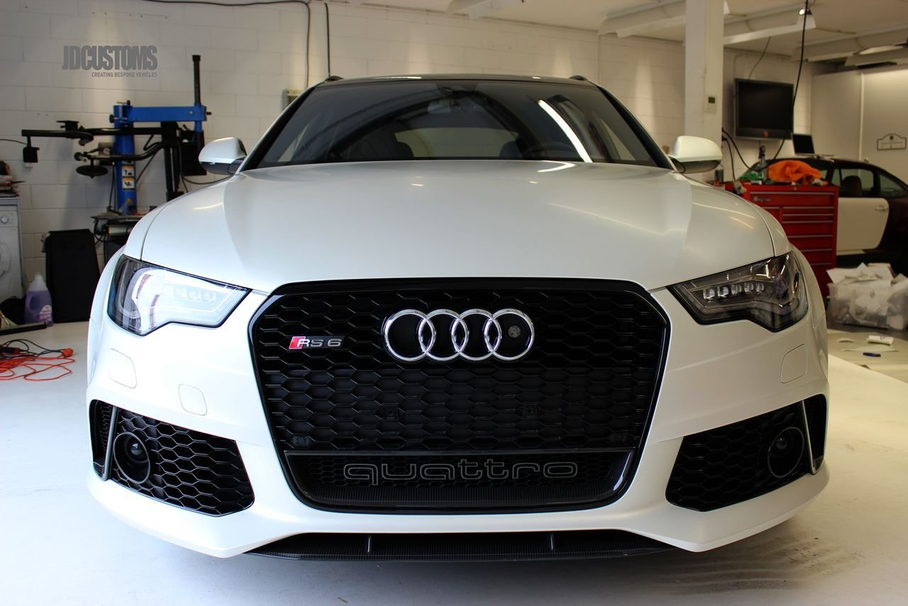 Latest De Audi Rs6 Van Afrojack Is Voortaan Satin Pearl White Free Download