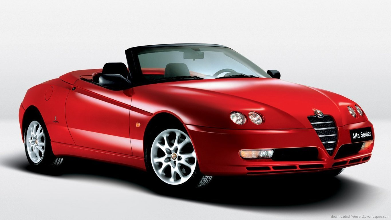 Latest Alfa Romeo Red Sports Car High Quality Wallpaper Free Free Download