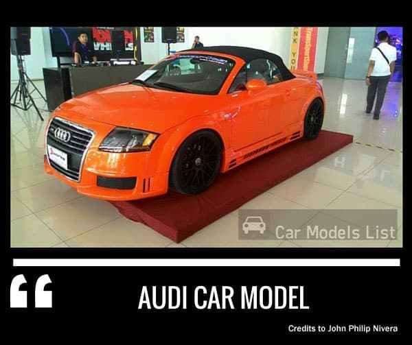 Latest Audi Car Models List Complete List Of All Audi Models Free Download