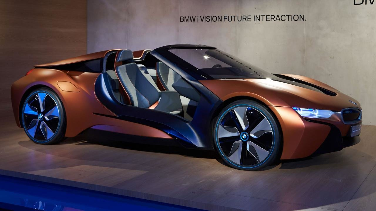 Latest This Bmw I8 Concept Previews The Future Of Car Electronics Top Gear Free Download