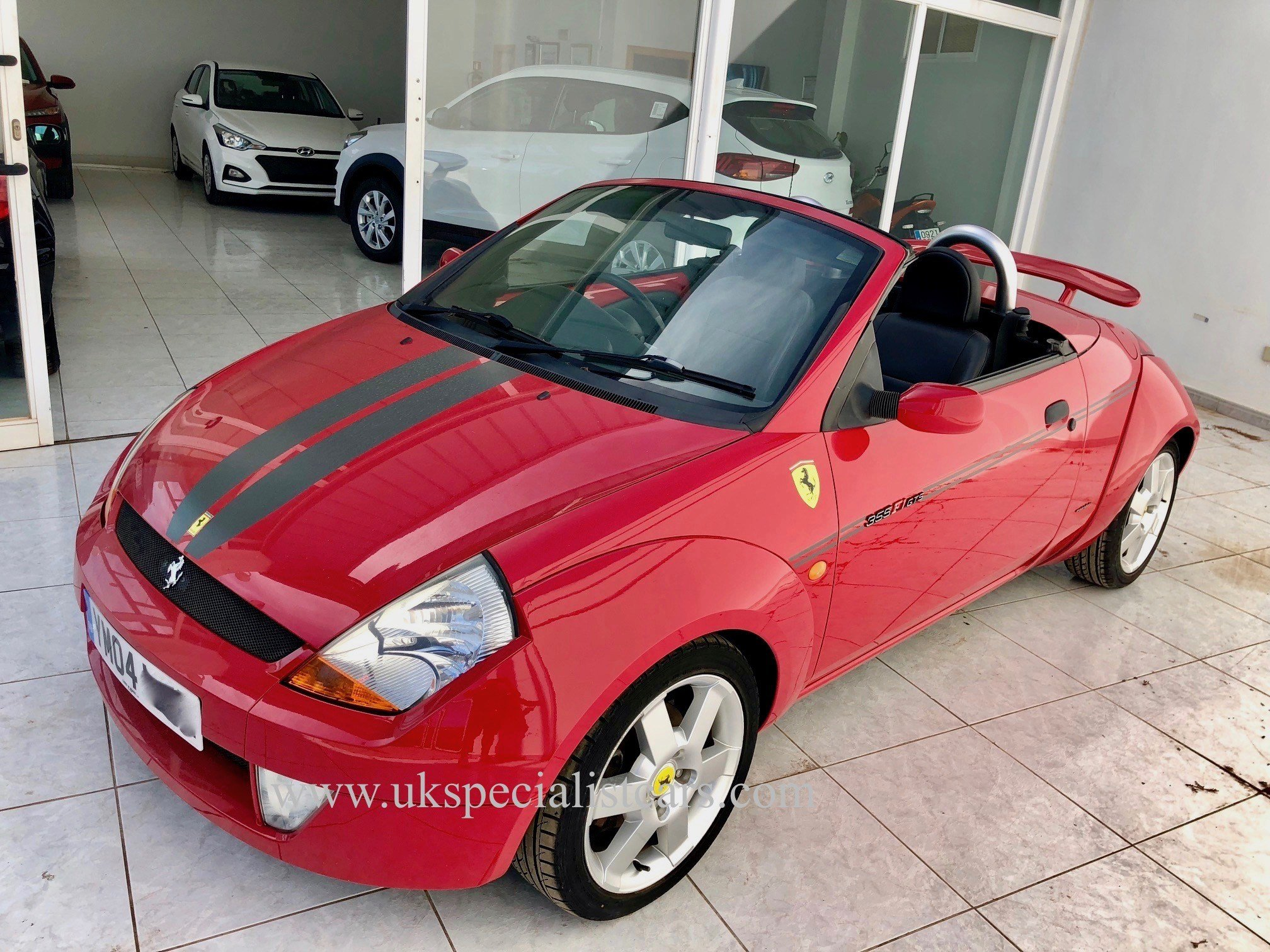 Latest Ferrari Ford Street Ka Convertible 1 3 In Spain Low Free Download