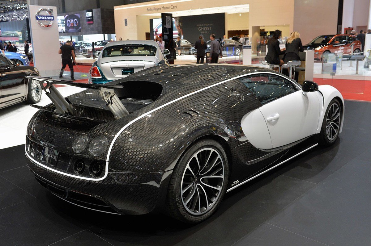 Latest Limited Edition Bugatti Veyron Mansory Vivere Exotic Car Free Download
