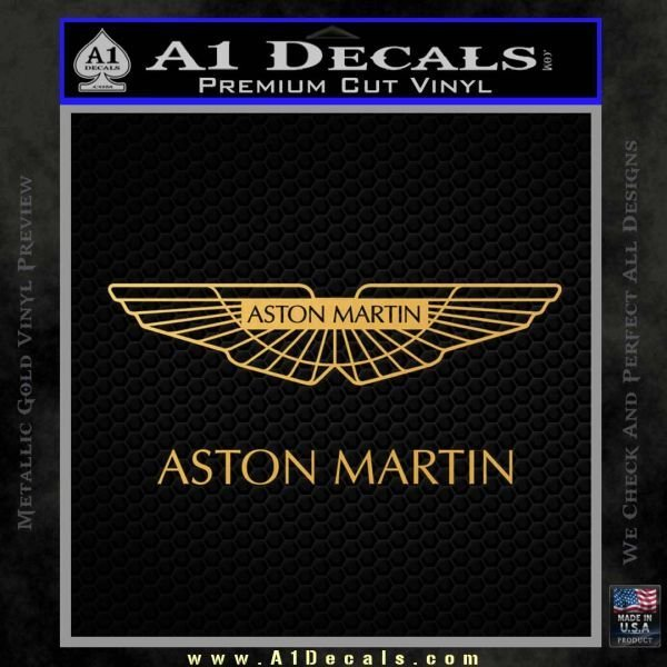 Latest Aston Martin Logo Decal Sticker » A1 Decals Free Download