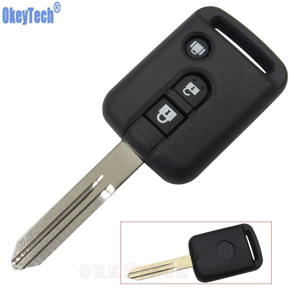 Latest Okeytech 3 Button Replacement Remote Car Key Shell For Free Download